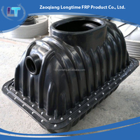 Made in China Plastic PE household biogas septic tank