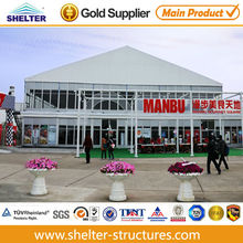 double floor double story tent structure