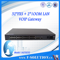VoIP Adapter with 32 fxs port connect to IP PBX box Cisco VoIP Gateway