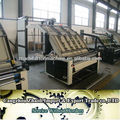 china semi-automatic flute laminate machine/high speed semi-automatic flute laminator machone