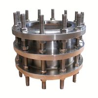 Ductile iron double flanged dismantling joint
