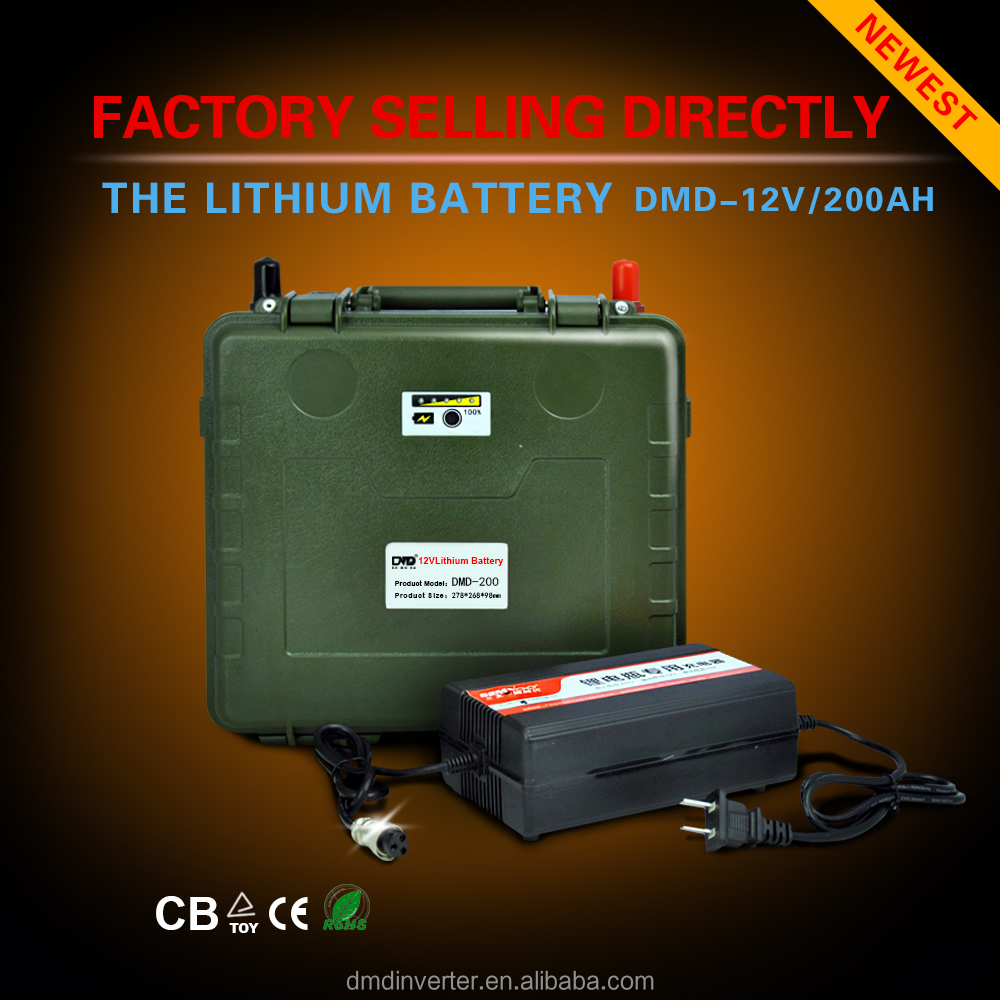 Must power full capacity 12v 200ah 500ah deep cycle lithium ion lifepo4 car battery for tools use