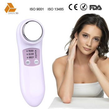 Radio frequency notime sonic electric facial brush