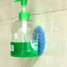 bathroom double sided silicone rubber sucker/suction cup