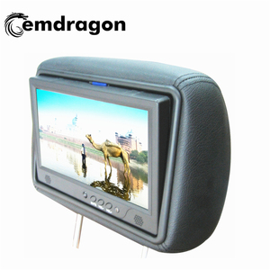 Taxi advertising headrest monitor 7 inch small 3g advertising screen advertising led display screens 3g lcd ad screen