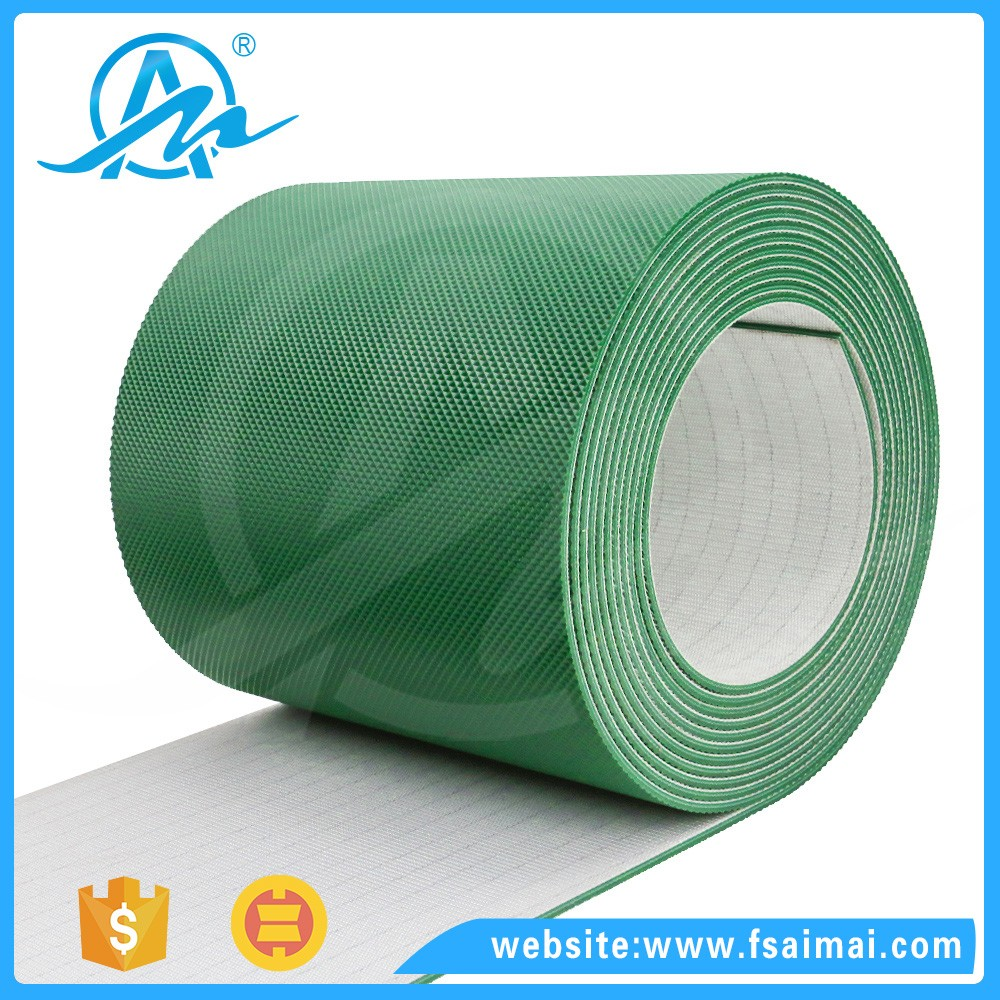 Customized heat resistant diamond profile belt pvc conveyor belts price for Paper Machinery