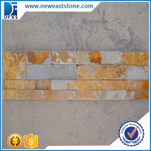 yellow exterior wall slate stone tile