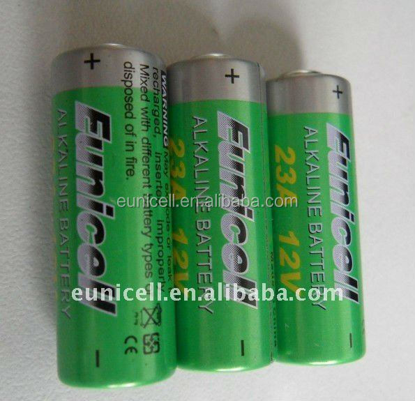 Remote control battery 23A A23 MN21 23GA 23AE 12V Alkaline batteries