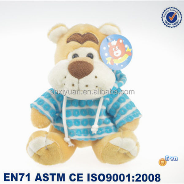 Lovely Soft plush toy dogs with t-shirt for baby gift