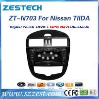 ZESTECH auto car multimedia car entertainment system for Nissan Tiida car mp3 system