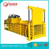 Semi - Automatic Recycled Equipment used horizontal baler machine
