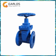 Handwheel Cast Iron Resilient Rubber Seal Gate Valve