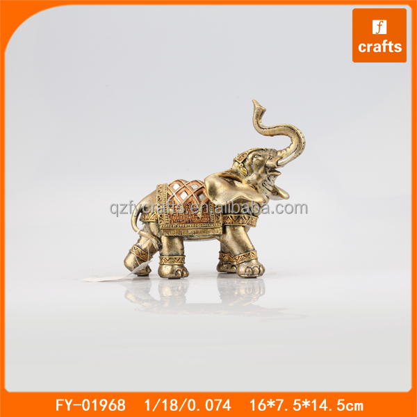 Resin travel gifts small elephant indian gifts for foreigners
