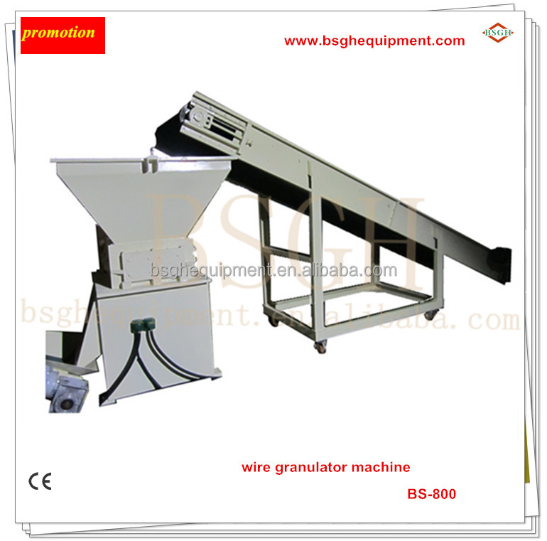 new scrap copper wire cable recycling granulator separating machine equipment