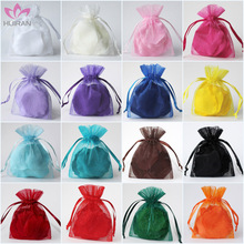 Wholesale Custom Drawstring Gift China Organza Bags
