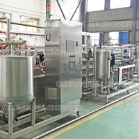 High technology commercial automatic apple cider tubular uht sterilizer system manufacturer