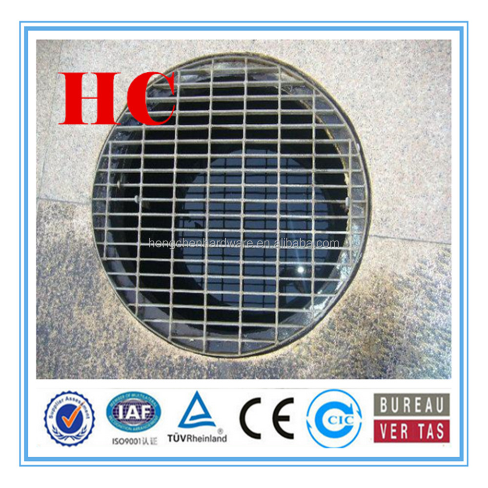 hot-dipped galvanized or stainless Garage floor covers drain grill rain water grating