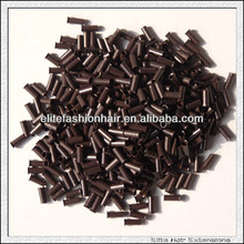 Wholesale hair extension tools flared copper ring for pre bonded hair