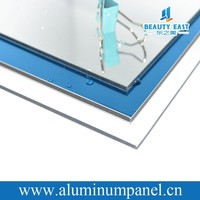 Aluminum composite panel mirror finish acp cladding prices waterproof building materials