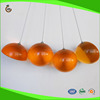 Hot selling custom logo large resin decoration clear balls