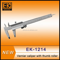 vernier caliper with thumb roller