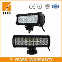 Cheap offroad 10inch 54w led light bar for jeep wrangler