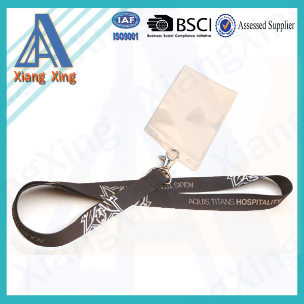 Fashion business lanyard with ID card holder from XIANGXING