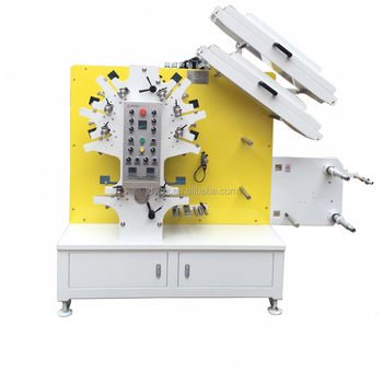 Label Flexography Printing Machine for garment wash care labels 6 colours and 2 colours JR-1262