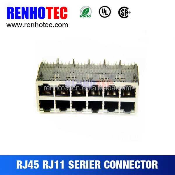 pcb mount female module ethernet wifi adapter rj45