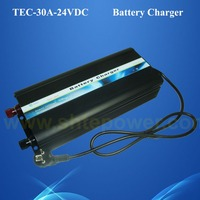 3 Stage Charge Mode AC 220V DC 24v deep cycle battery charger 30A