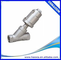 2/2Way Stainless Steel 90 degree Angle Check Valve With Normally closed