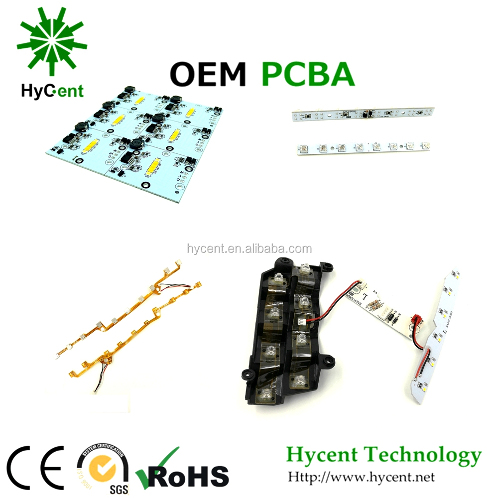 Hycentech LED PCB manufacturer flexible pcb for led support copy circuit board with 94v0 PCB for LED for auto car light PCBA