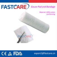 CE cotton disposable bandage for pressure ulcers