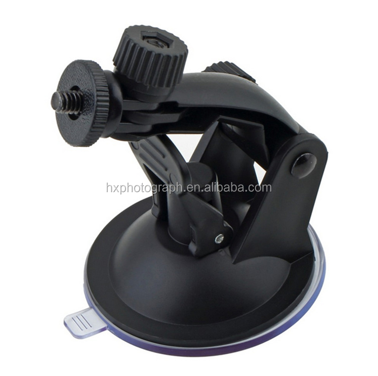 China Supplier DLSR Camera Gopros Suction Cup Tripod Mount