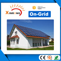 XRSOLAR High Efficiency 5KW ON-Grid Solar System Panels