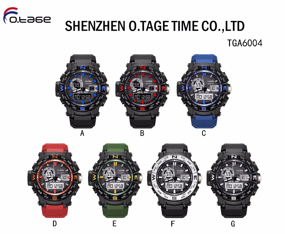 Top boys wrist high quality watch for men made in china analog digital wrist watch