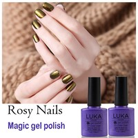 Newest Nail Art Design 10PCS/Lot Soak Off UV Painting Magic Color 10ML Chameleon Gel