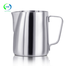 High quality polish stainless steel mug coffee cup/milk cup/pouring cup