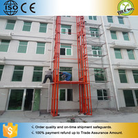 large tonnage cargo lift/Material Handling Equipment/hydraulic guide rail lift