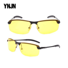 CE FDA 2017 new style YNJN half frame polarized sunglasses custom logo eye protect driving night vision goggles