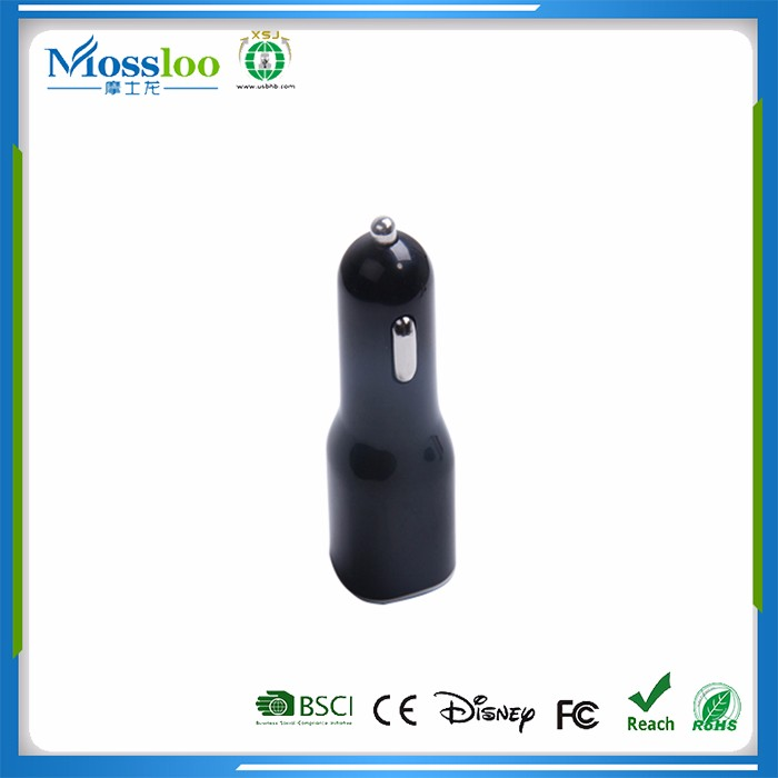 Strict QC Manufacturer 2 Port Mobile Car Charger For Car, Dual Usb Car Charger
