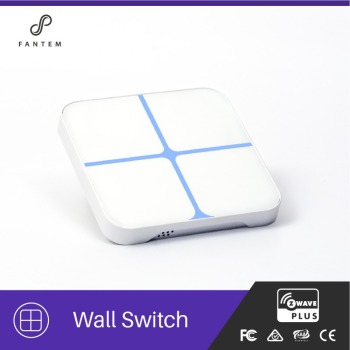Home Automation Remote Control Electrical Z-wave 908.42 Touch Glass Z Wave Touch Switch