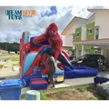 2018 Commercial grade inflatable water slides for kids and adults