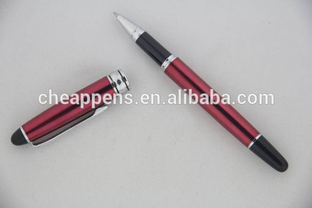 pu leather metal premium gift pen