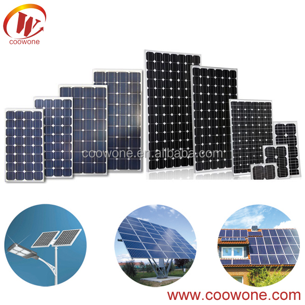 Factory supply cheap 260w monocrystalline solar panel pv module