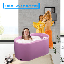 Best sell plastic soaking baby bath tub spa products