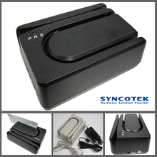 SYNCOTEK Bill Swipe Magnetic Card and Cheque Stripe Reader Writer