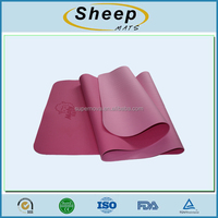 high quality eco-friendly tpe yoga mat material