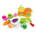 ICTI certificated custom made kids educational kitchen toys set