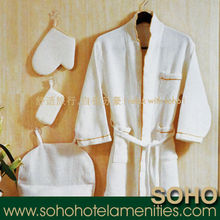 Hotel and home bathroom bathrobes for men
